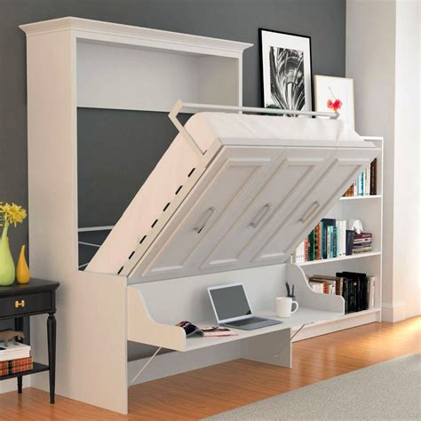 Horizontal Murphy Bed Plans With Desk