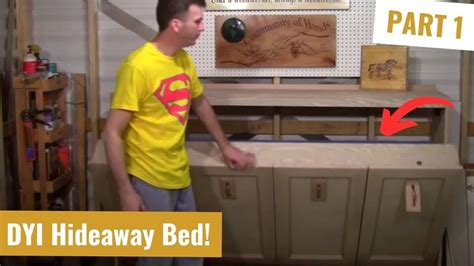 Horizontal Murphy Bed Plans Youtube