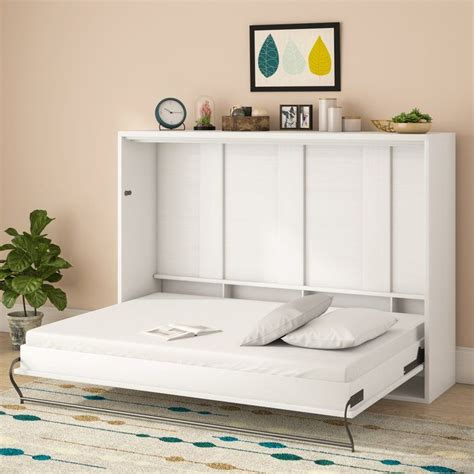 Horizontal Murphy Bunk Bed Plans