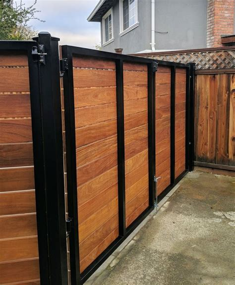 Horizontal Wood Gate Diy Supplies
