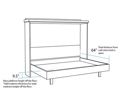 Horizontal-Wall-Bed-Plans