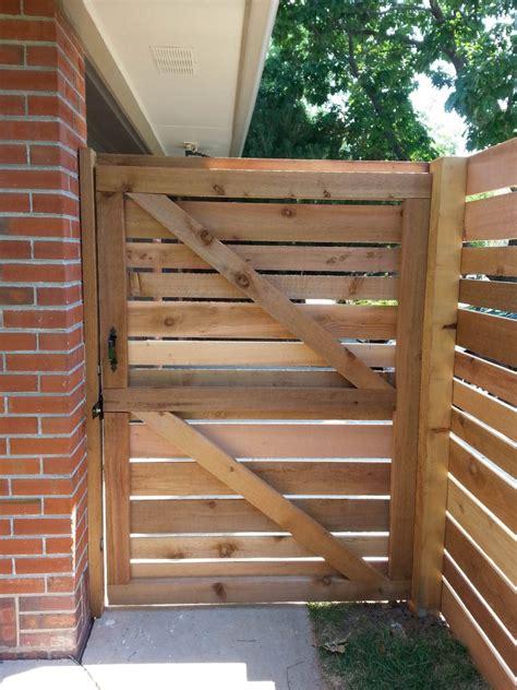 Horizontal-Wood-Gate-Plans