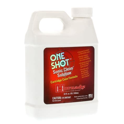 Hornady  One Shot  Sonic Clean Formula  Cabela S.