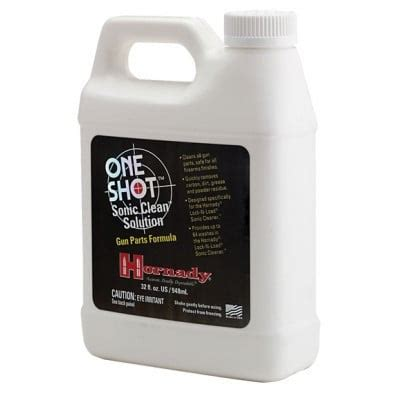 Hornady One Shot Sonic Gun Parts Formula Clean Solution Review.