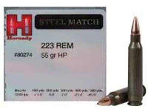 Hornady 223 Rem Steel Match H80274 55 Gr Hp 50 Per Box And Fde Ultimate Trigger Kit For Glock Reg Zev Technologies