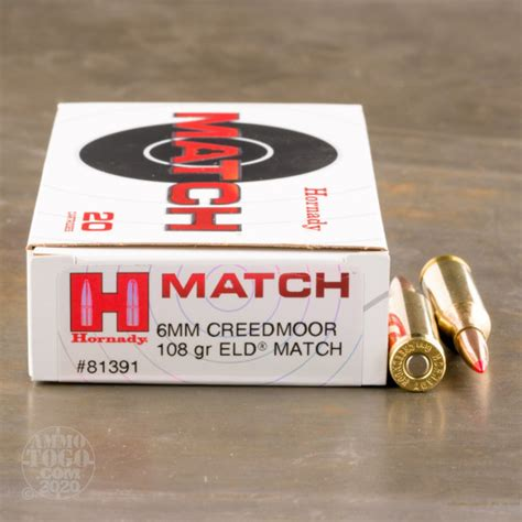 Hornady 6mm Creedmoor 108gr Eldmatch 20rds And Brownells Search Top Rated Supplier Of Firearm Reloading