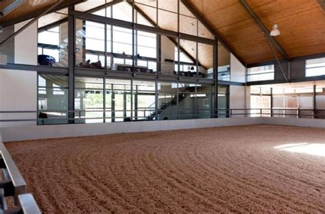 Horse Barn Designs With Indoor Arena