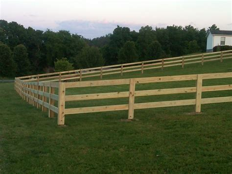 Horse Corral Wood Fence Diy Plans