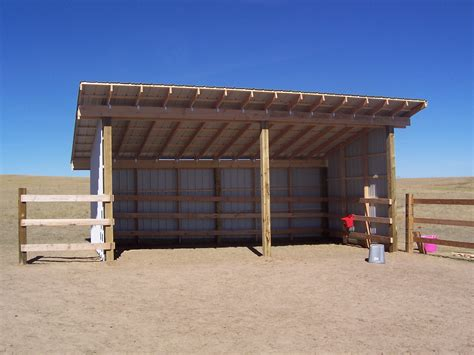 Horse Loafing Shed Designs