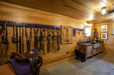 Horse Tack Room Plans