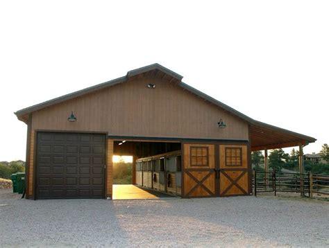 Horse-Barn-Shop-Combination-Plans