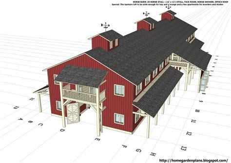 Horse-Pole-Barn-Plans-Free