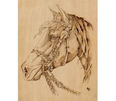 Best Horse wood burning patterns free