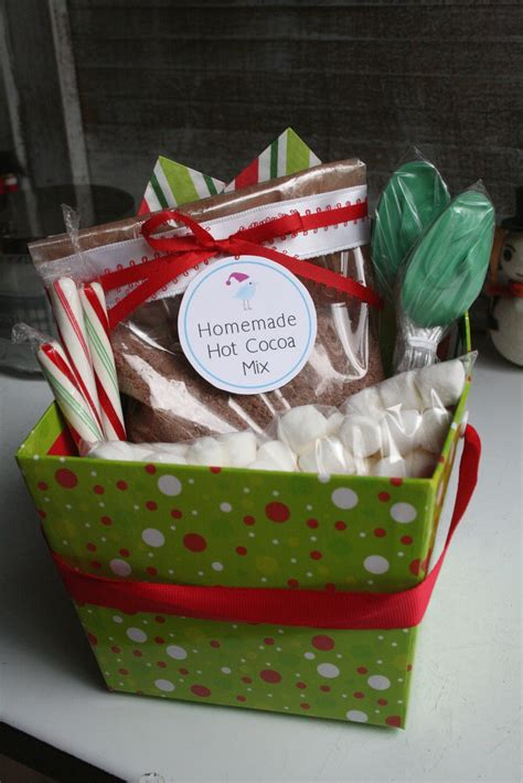 Hot Cocoa Christmas Gifts Diy