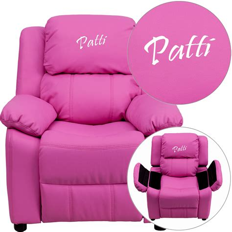 Hot Pink And Blue Kids Recliners