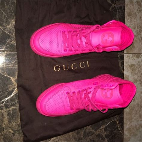Hot Pink Gucci Sneakers Price