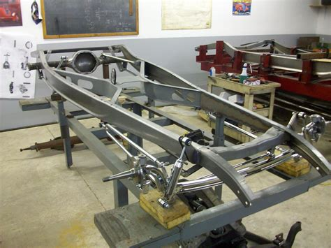 Hot Rod Chassis Building