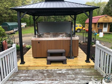 Hot Tub Roof Plans
