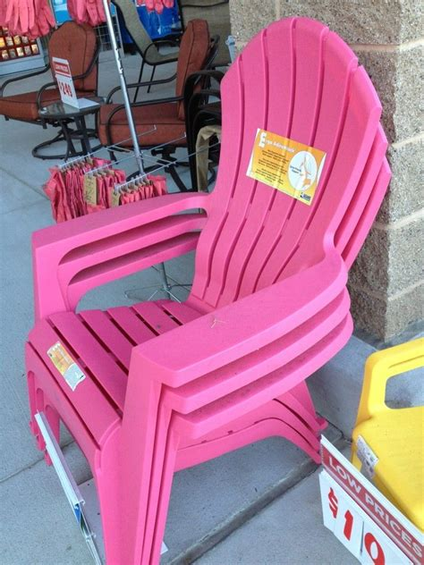 Hot-Pink-Plastic-Adirondack-Chairs