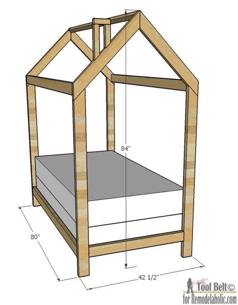 House Bed Frame Plans Twin