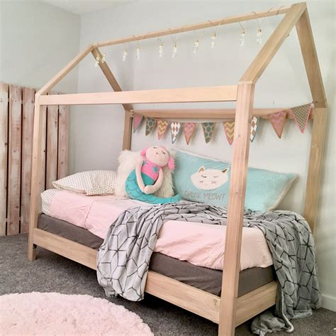 House Bed Frame Twin Diy For Adults