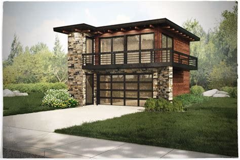 House Over Garage Modern Small Plans