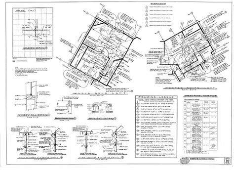 House Plan Framing Detail