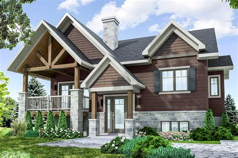 House Plans Contemporary Craftsman