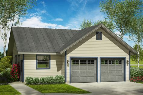 House Plans With Double Garage