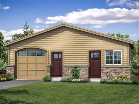 House Plans With Garage And Workshop