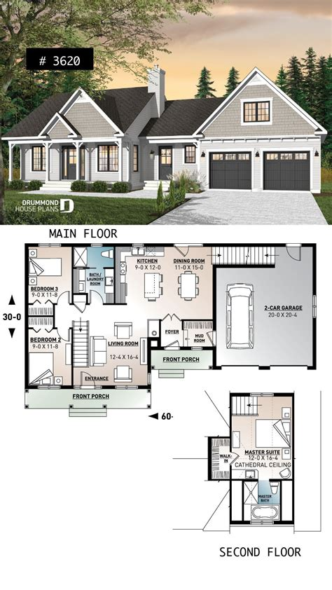 House Plans With Master Bedroom Over Garage