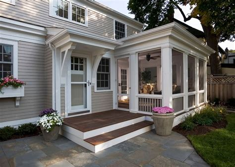 House Plans With Screened Front Porches