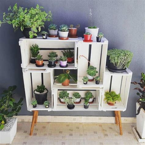 House Plant Stand Diy