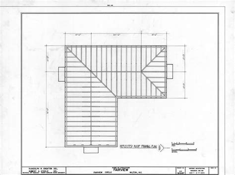 House Roof Construction Plans