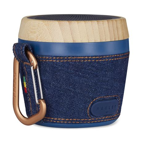 House of Marley Chant Mini Denim Bluetooth Portable Audio System