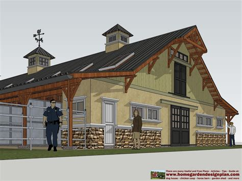 House-And-Horse-Barn-Plans