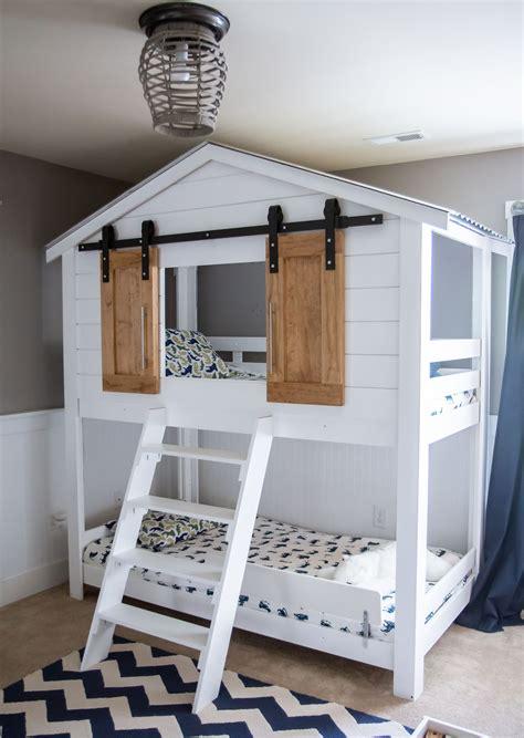 House-Loft-Bed-Plans