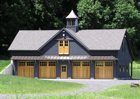 House-Plans-For-Barn-Style-Home-With-Detached-Garage