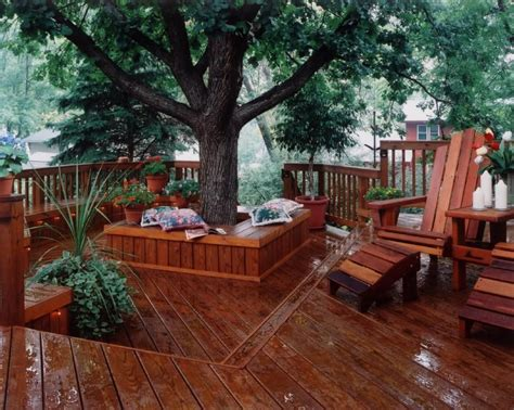 How Do I Build A Deck Around My Trees