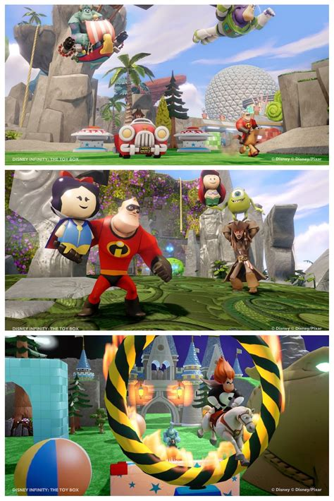 How Do You Build Your Own Toy Box In Disney Infinity