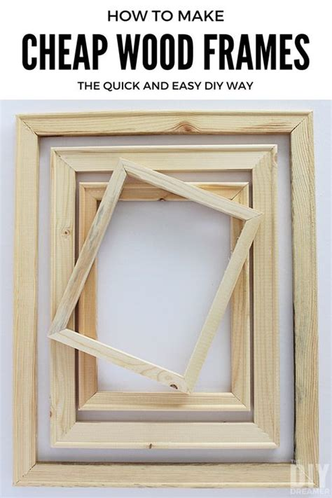 How Do You Make A Picture Frame Out Of Wood