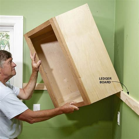 How High To Mount Kitchen Wall Cabinets