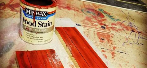 How Long To Let Wood Stain Dry