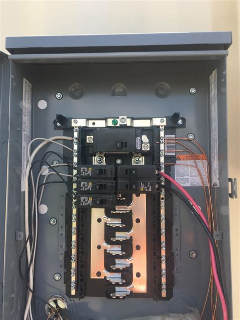 How To Add A Subpanel To A 100 Amp Panel