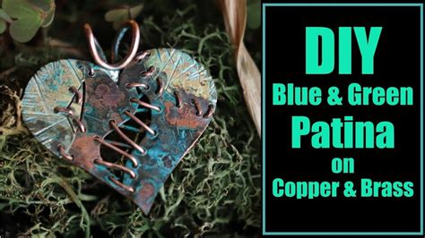 How To Add Green Patina To Brass