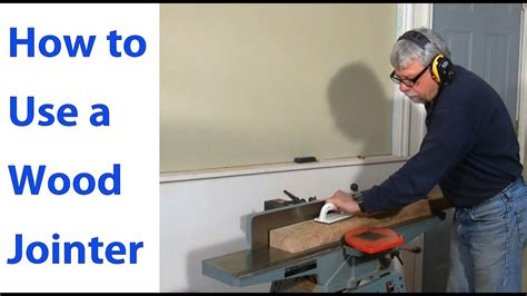 How To Adjust A Jointer