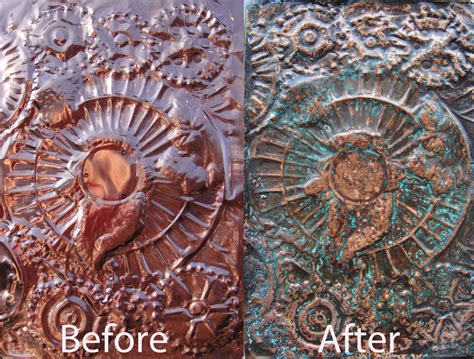 How To Age Copper Brown