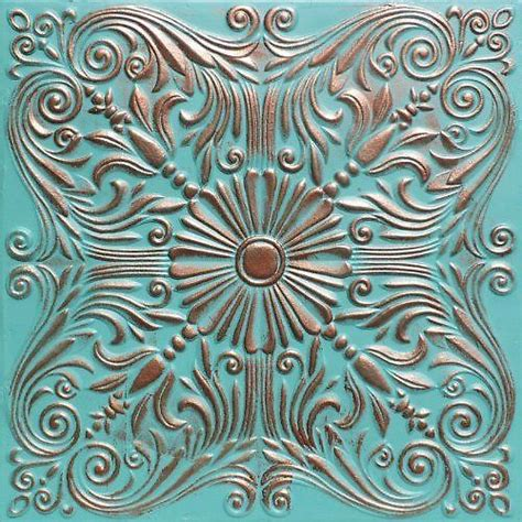 How To Age Copper Ceiling Tiles