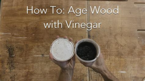 How To Age New Wood On Youtube