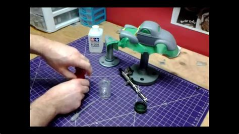 How To Airbrush Models